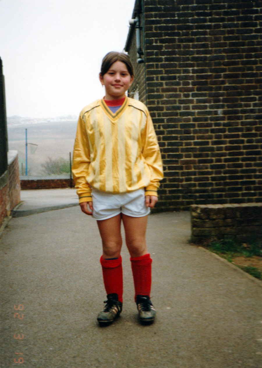 Gina West, Junior School football team