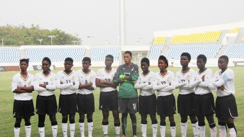 Second Contingent of Ghana's Under 20 Female Team set for France today