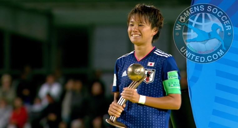 Moeka Minami wins the Bronze Ball