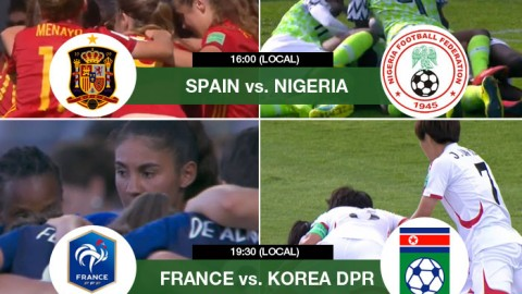 Live updates from the FIFA U-20 Women's World Cup 2018 Quarter-finals