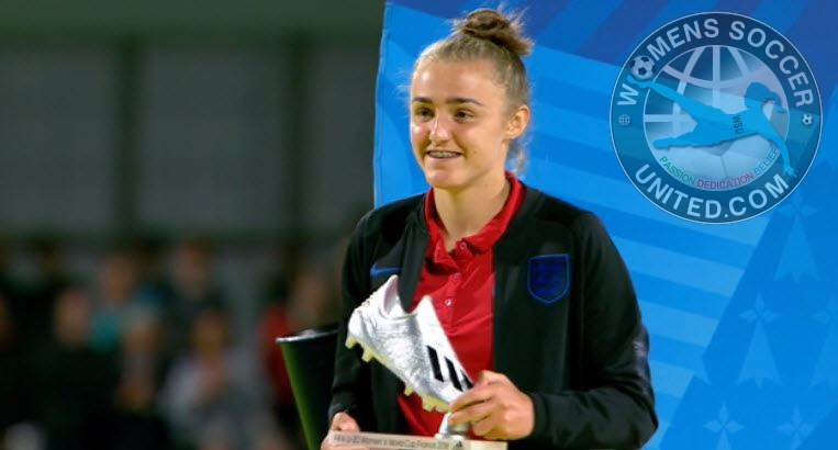 Georgia Stanway wins Silver Boot