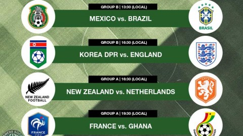 Live Match Commentary from Day 1 of the FIFA U-20 Women's World Cup