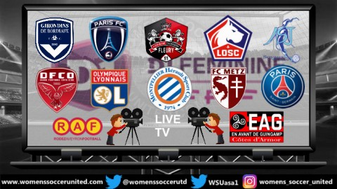 TV channels to watch live French Feminine Division 1 Games