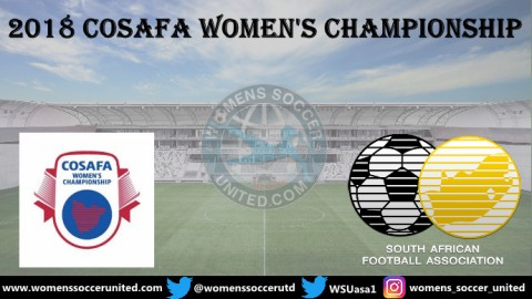2018 COSAFA Women's Championship Match Fixtures and Results