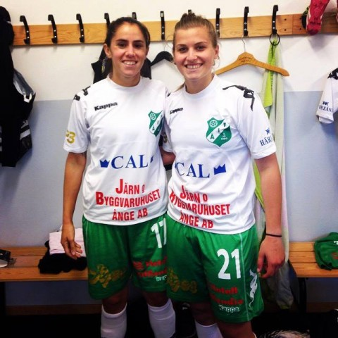 Maltese internationals Ylenia Carabott and Jade Flask sign for Swedish Club Ange IF