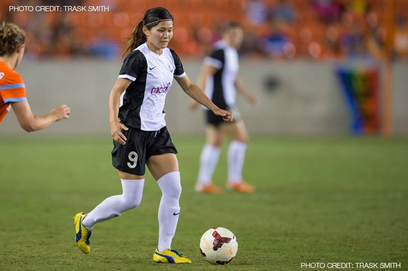 Nahomi Kawasumi | Houston Dash 1-4 Seattle Reign - 30 July 2014