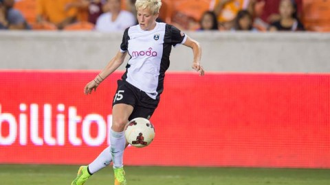 Seattle Reign FC Forward Megan Rapinoe To Take Flight With The Blue Angels
