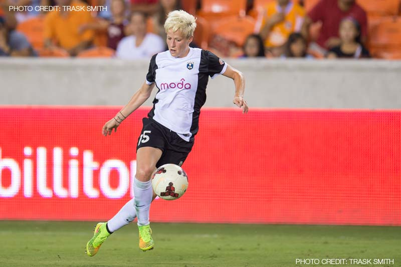 Megan Rapinoe | Houston Dash 1-4 Seattle Reign - 30 July 2014