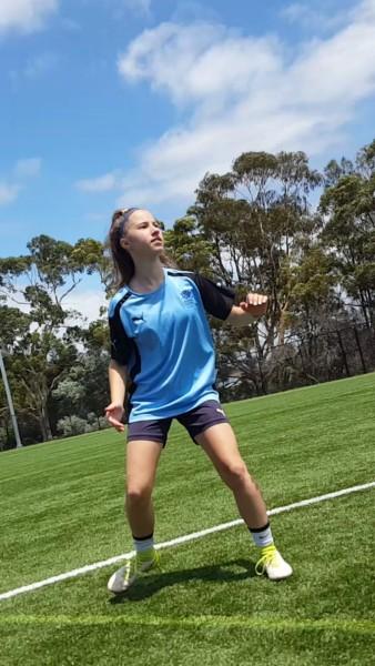 first-time-kicking-a-ballin-8-weeks