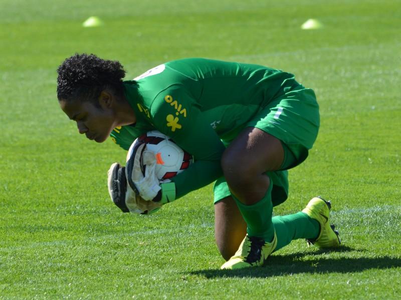 Brazil Goalkeeper Luciana Dionisio
