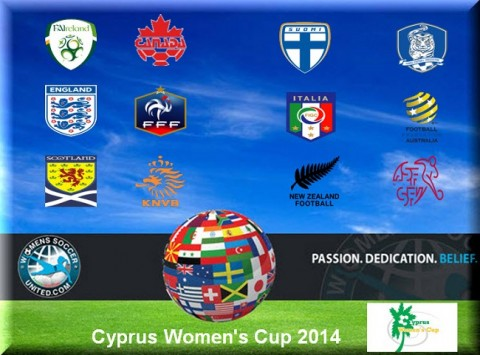 Cyprus Women's Cup Day 1 Results and Goal Scorers 5th March 2014