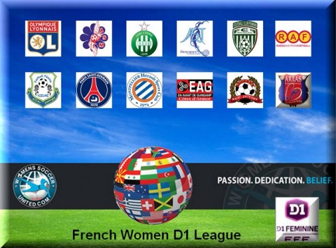 French Féminine Division 1 Match Results 2nd March 2014