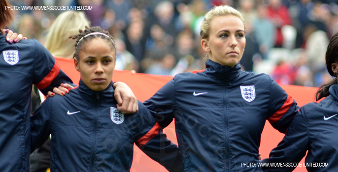 Demi Stokes, Toni Duggan, England Women's National Team