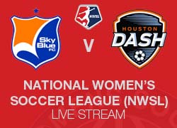 Sky Blue FC v Houston Dash Live broadcast NWSL 2014