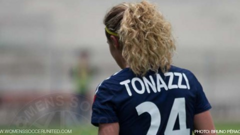 Laetitia Tonazzi signs for Montpellier HSC