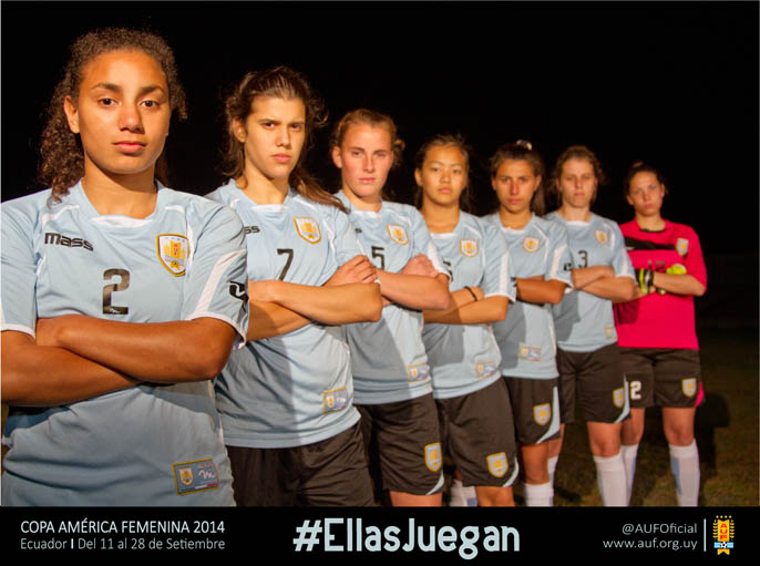 Uruguay squad announced for Copa América Femenina 2014 ...