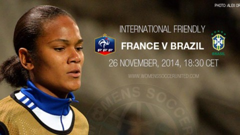 Full-time: France 2-0 Brazil – International Friendly (26 November 2014)