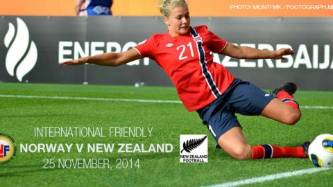 Full-time: Norway 1-1 New Zealand – International Friendly (25 November 2014)