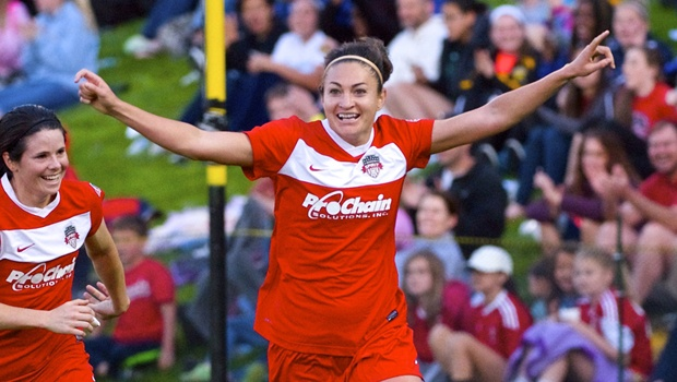 Portland Thorns FC acquire Jodie Taylor from Washington Spirit through trade at NWSL draft