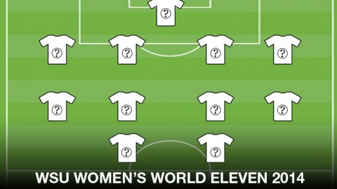 WSU's Women's Football World Eleven 2014