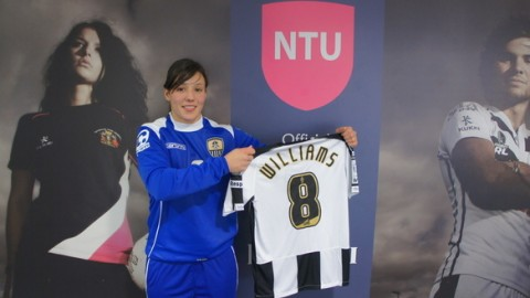Notts County sign England international Rachel Williams from Chelsea