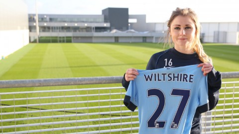 Manchester City sign striker Sarah Wiltshire