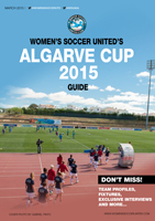 Algarve Cup 2015 guide front cover