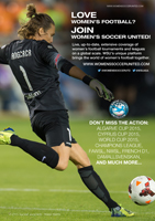 Women's Soccer United advert