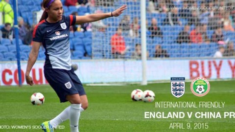 Full-time: England 2-1 China PR – International Friendly (9 April 2015)