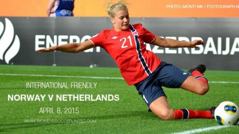 Full-time: Norway 2-3 Netherlands – International Friendly (8 April 2015)