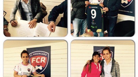 Nataša Andonova signs for Swedish club FC Rosengård