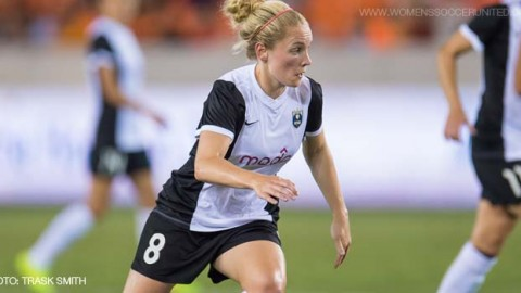 Seattle Reign FC Midfielder Kim Little Voted NWSL Player of the Week