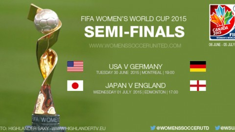 Semi-finals – FIFA Women's World Cup 2015