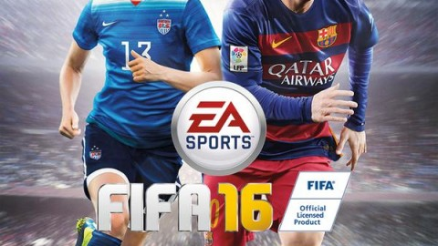 Alex Morgan on FIFA 16 US cover, Christine Sinclair on FIFA 16 Canadian cover