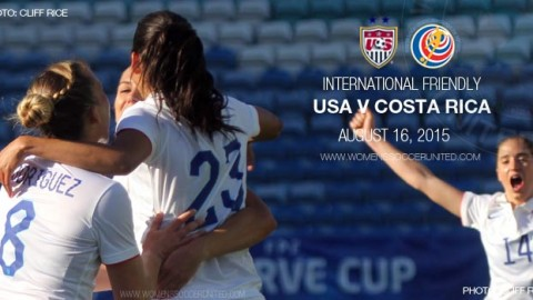 USA v Costa Rica – Victory Tour – International Friendly (16 August 2015)