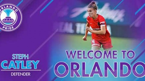 Orlando Pride Acquires Australian Women's National Team Defender Stephanie-Elise Catley