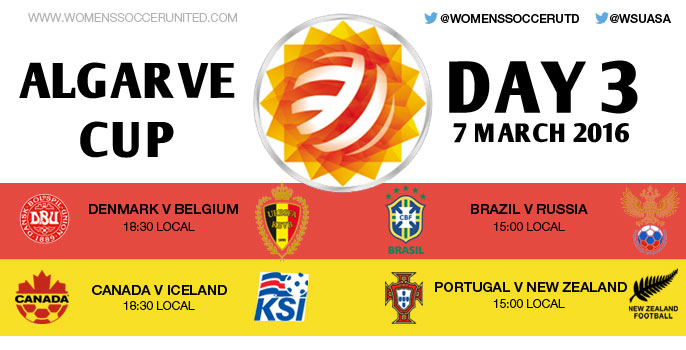 Day 3 at the Algarve Cup 2016