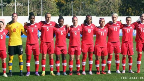 Canada Name Squad For Algarve Cup 2016