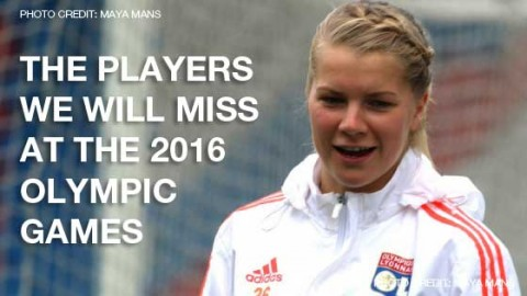 The players we will miss at the 2016 Olympic Games women's football tournament