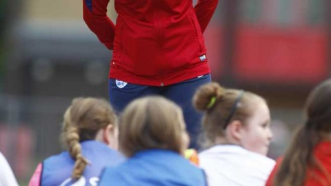 England Star Fran Kirby Surprises The Next Generation of Lionesses