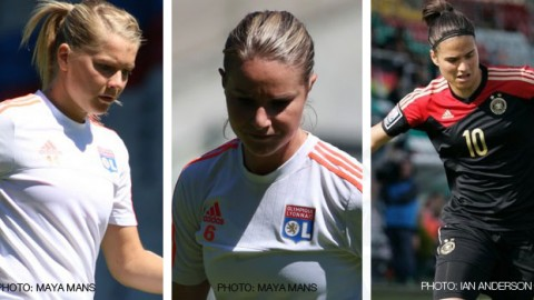 Ada Hegerberg, Amandine Henry and Dzsenifer Marozsán are the three nominees for the 2015/16 UEFA Best Women's Player in Europe Award