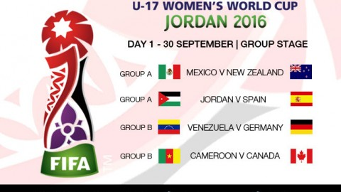 Day 1 at the FIFA U-17 Women's World Cup 2016