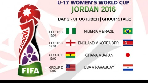 Day 2 at the FIFA U-17 Women's World Cup 2016