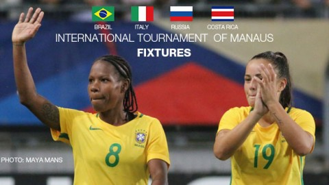International Tournament of Manaus 2016 fixtures