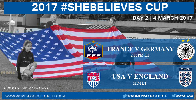Day Two at the 2017 SheBelieves Cup