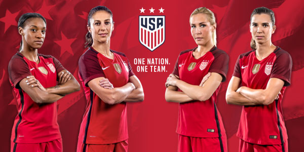 U.S. Soccer unveils new red 2017 National Team Kit