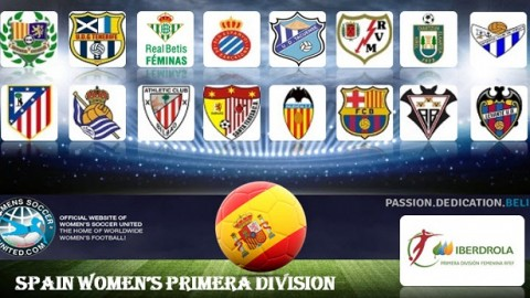 Atletico Madrid lead Iberdrola RFEF Women's Premier Division 26th March