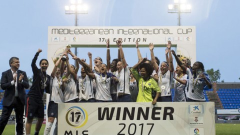 Paris Saint-Germain defeat Atlético de Madrid in the final of the 17th edition of the Mediterranean International Cup