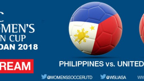 Live Stream: Philippines v United Arab Emirates | AFC Women's Asian Cup Jordan 2018 Qualifiers
