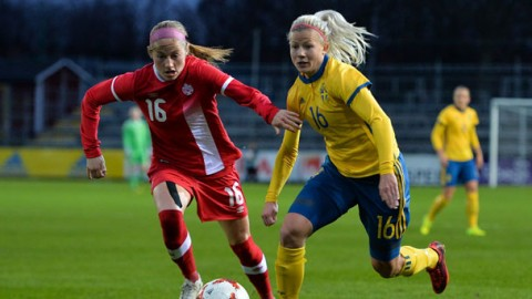 Match report: Canada defeat Sweden 1-0 in its first of two international friendlies in Europe